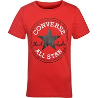 Converse Boys Chuck Patch T-Shirt, Red