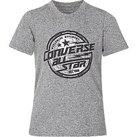 Converse Boys Lock Up T-Shirt, Grey