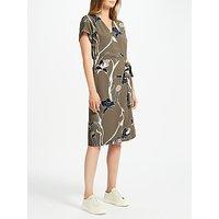 Minimum Gunna Printed Dress, Olive Night