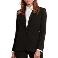 Lauren Ralph Lauren Stretch Twill Jacket, Black