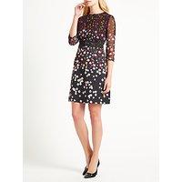 Marella Editti Floral Print Dress, Black