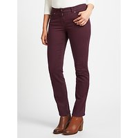 Gerry Weber Roxy Slim Leg Jeans, Berry