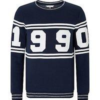 John Lewis Boys 1990 Sweatshirt, Navy