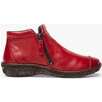 John Lewis Designed for Comfort Yale Double Zip Shoe Boots