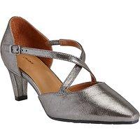 John Lewis Adaline Cross Strap Court Shoes