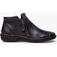 John Lewis Designed for Comfort Yale Double Zip Shoe Boots