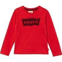 Levis Boys Bat Ketchup T-Shirt, Red