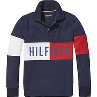 Tommy Hilfiger Block Polo Shirt, Navy