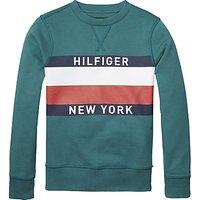 Tommy Hilfiger Boys Long Sleeve Crew Neck Sweatshirt
