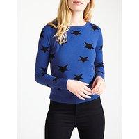 Marella Pandoro Star Jumper, Cornflower Blue