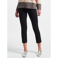 J Brand Ruby High Rise Cropped Jeans, Shadow Black