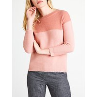 Marella Fetta Contrast Jumper, Pink