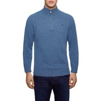 Hackett London Lambswool Half Zip Jumper