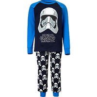Star Wars Childrens Stormtrooper Pyjamas, Blue