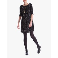 Seraphine Minnie Dots Maternity Dress, Black