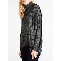 Marella Olaf Metallic Fibre Knit, Grey