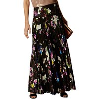 Karen Millen Photographic Floral Maxi Skirt, Multi
