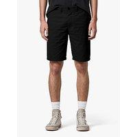 AllSaints Cobalt Cotton Shorts