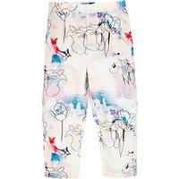 Angel & Rocket Girls Vienna Printed Trousers, Blue/Multi