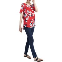 Joules Hannah Top, Red Posy