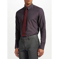 J.Lindeberg Dobby Slim Fit Shirt, Dark Grey