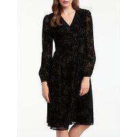 Bruce by Bruce Oldfield Devore Wrap Dress, Black