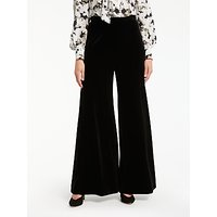 Bruce by Bruce Oldfield Velvet Trousers, Black