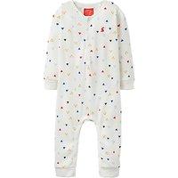 Baby Joule Webley Sleepsuit, Cream