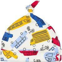 Baby Joule Koo Knit Car Hat, Yellow/Multi