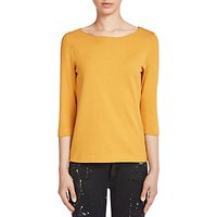 Oui Knitted Top, Dark Yellow