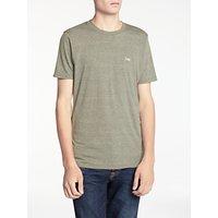 Denham Crew Neck T-Shirt, Mountain Green