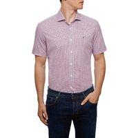 Hackett London Checked Short Sleeve Shirt