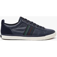 PS by Paul Smith Seppo Leather Trainers, Navy