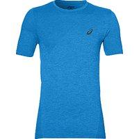Asics Seamless Short Sleeve Training T-Shirt, Blue