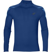 Asics Stripe Half-Zip Top, Blue