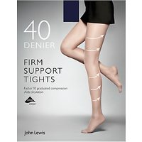 John Lewis 40 Denier Firm Support Tights  Pack of 1