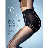 John Lewis & Partners 10 Denier Smooth Body Shaper Tights