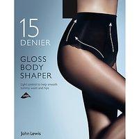 John Lewis & Partners 15 Denier Gloss Body Shaper Tights