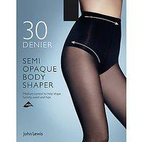 John Lewis & Partners 30 Denier Semi Opaque Body Shaper Tights