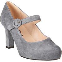 Unisa Naomi Block Heeled Court Shoes, Glacier