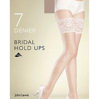 John Lewis 7 Denier Bridal Hold Ups