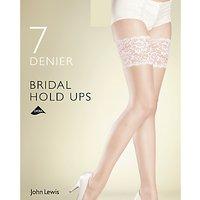 John Lewis & Partners 7 Denier Bridal Hold Ups
