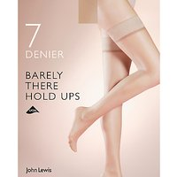 John Lewis 7 Denier Barely There Hold Ups  Pack of 1