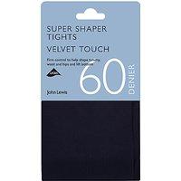 John Lewis & Partners 60 Denier Super Bodyshaper Velvet Touch Opaque Tights
