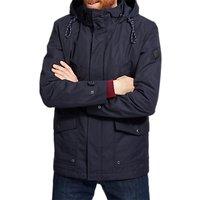 Joules Bridgefield Hooded Waterproof Jacket, Marine Navy