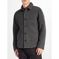 Kin by John Lewis Boucle Workwear Jacket, Grey