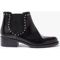 John Lewis Persia Studded Chelsea Boots, Black