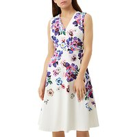 Fenn Wright Manson Petite Provence Dress, White/Multi