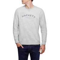 Hackett London Mr Classic Crew Neck Jumper, Grey