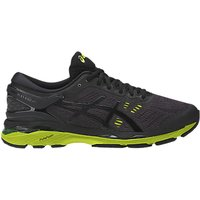 Asics GEL-KAYANO 24 Mens Structured Running Shoes, Black/Green